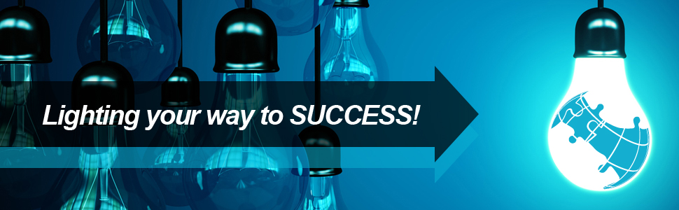 Lighting your way to SUCCESS!
